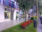 Shopping street at Alameda