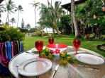 Lunch on your lanai