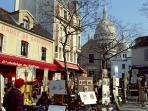 the district : la place du Tertre