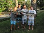 Great Fishing on the Cape- Front Yard