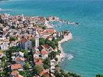 kastela from the air