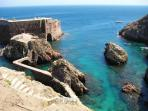 berlengas island peniche 25 Minutes by car