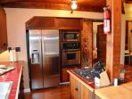 Gateway Stay Redwood Great Room Fully Equipped Kitchen with New Stainless Appliances