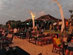Fish & seafood cafes on Jimbaran beach