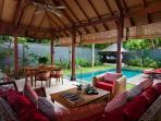 Living room & Bale