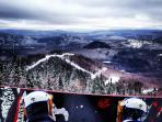 Snowboarding in Tremblant
