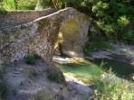 Bridge from Apricale to Perinaldo