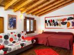 Habitación junior-suite La Roja. ¡A por ellos!... los sueños