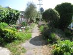 Pathway outside the home