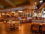 Onsite Restaurant Dining Area
