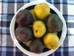 Figs from the garden, take it for free. Best for the breakfast!