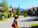 Our Street. Tranquillity just a few minutes walk from Whistler Village