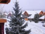 Casabella in Snow Storm