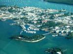 Condo Complex, marina and Marathon by air