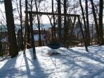 Winter in Zandt.Erlebnispfad