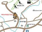 Hakuba Holiday House location map