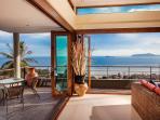 Amazing panoramic ocean views from Villa