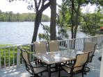 Deck Lake view