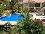 nice quite pool just 10 mts from condo