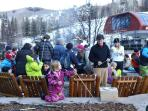 Beaver Creek/Fire Pit/Cookies & Marshmallow Time (everyday when slopes close)!