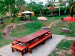 Garden Area TigaDis Villa