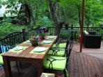 Deck - outside dining