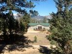 Views and a private setting, convenient to the Town Of Estes Park and Rocky Mountain National Park