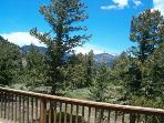 View toward Rocky Mountain National Park