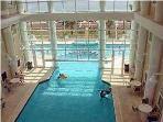 Indoor pool heated