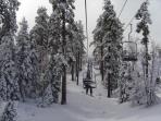 Bear Mountain Resort in Winter