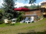 Garden white pool