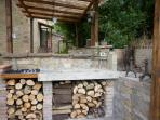 barbecue and kitchen