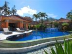Our Villa and our beautiful swimming pool