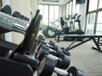 Gym on the 22nd floor