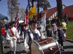Fife and Drum Corp in Village