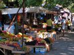 Fruit market in Sozopol