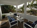 Master suite patio area