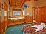 A Mountain Endeavor #282- Jacuzzi Tub & Bedroom