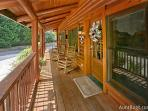 A Mountain Endeavor #282- Outside Deck of the Cabin