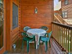 A Mountain Endeavor #282- Outside Deck