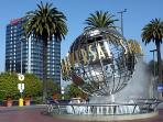 Universal Studios 2 miles