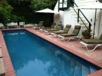 Pool and Steps to Guest Quarters