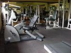 Free access to fully equipped gym at Club House...