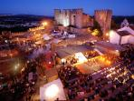 Medieval Obidos by night