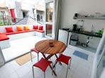 Terrace / kitchen