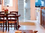 Interior (kitchen/ dining area)