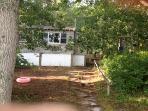 Pond side/front of Cottage
