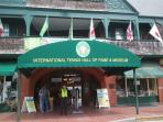 Visit the Tennis Hall of Fame in Newport, RI approximately 3 miles away