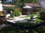 Outdoor patio & garden