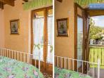 Steliana's upper level bedroom